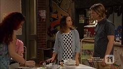 Imogen Willis, Daniel Robinson in Neighbours Episode 7165