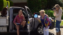 Bossy, Amy Williams, Sheila Canning, Amber Turner in Neighbours Episode 7165