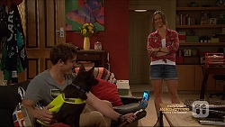 Kyle Canning, Bossy, Amy Williams in Neighbours Episode 7165