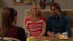 Paige Novak, Lauren Turner, Brad Willis in Neighbours Episode 7166