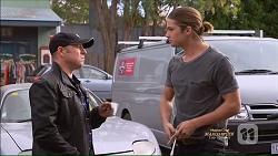 Dennis Dimato, Tyler Brennan in Neighbours Episode 7166