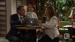 Paul Robinson, Naomi Canning, Terese Willis in Neighbours Episode 7166
