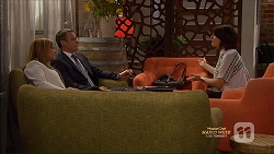 Terese Willis, Paul Robinson, Naomi Canning in Neighbours Episode 7166