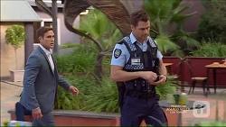 Aaron Brennan, Mark Brennan in Neighbours Episode 7166