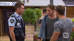 Mark Brennan, Tyler Brennan, Aaron Brennan in Neighbours Episode 7167