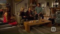 Mary Smith, Lauren Turner, Paige Novak, Brad Willis, Terese Willis in Neighbours Episode 7167