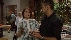 Naomi Canning, Nate Kinski in Neighbours Episode 7167