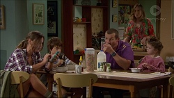 Amy Williams, Jimmy Williams, Toadie Rebecchi, Sonya Mitchell, Nell Rebecchi in Neighbours Episode 7168