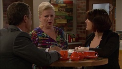 Paul Robinson, Sheila Canning, Naomi Canning in Neighbours Episode 7168