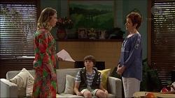 Sonya Mitchell, Jimmy Williams, Susan Kennedy in Neighbours Episode 7168