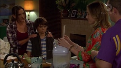 Amy Williams, Jimmy Williams, Sonya Mitchell, Toadie Rebecchi in Neighbours Episode 7168