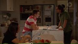 Imogen Willis, Josh Willis, Brad Willis in Neighbours Episode 7169