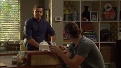 Nate Kinski, Tyler Brennan in Neighbours Episode 7170