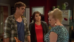 Kyle Canning, Naomi Canning, Sheila Canning in Neighbours Episode 7170