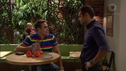 Aaron Brennan, Nate Kinski in Neighbours Episode 7170