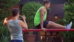 Josh Willis, Aaron Brennan in Neighbours Episode 7170