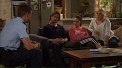 Mark Brennan, Brad Willis, Paige Smith, Lauren Turner in Neighbours Episode 7171