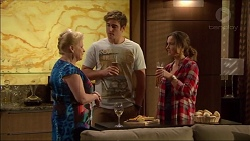 Sheila Canning, Kyle Canning, Amy Williams in Neighbours Episode 7173
