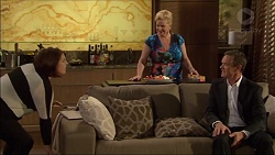 Naomi Canning, Sheila Canning, Paul Robinson in Neighbours Episode 7174