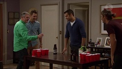 Karl Kennedy, Mark Brennan, Nate Kinski, Tyler Brennan in Neighbours Episode 7174