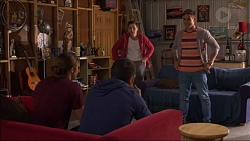 Tyler Brennan, Nate Kinski, Josh Willis, Aaron Brennan in Neighbours Episode 7174