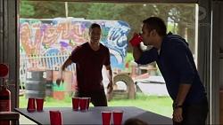 Tyler Brennan, Nate Kinski in Neighbours Episode 7175