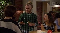 Naomi Canning, Casper Smythe, Imogen Willis in Neighbours Episode 7175