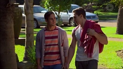 Aaron Brennan, Josh Willis in Neighbours Episode 7175