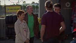 Susan Kennedy, Karl Kennedy, Tyler Brennan, Ben Kirk in Neighbours Episode 7175
