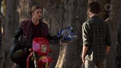 Tyler Brennan, Ben Kirk in Neighbours Episode 7175