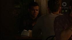 Nate Kinski, Aaron Brennan in Neighbours Episode 7175