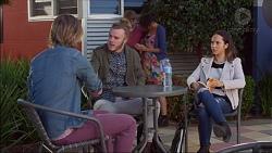 Daniel Robinson, Casper Smythe, Imogen Willis in Neighbours Episode 7176