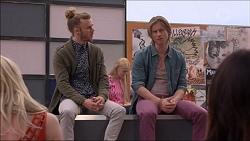 Casper Smythe, Daniel Robinson in Neighbours Episode 7176