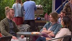 Casper Smythe, Daniel Robinson, Imogen Willis in Neighbours Episode 7176