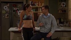 Paige Novak, Mark Brennan in Neighbours Episode 7176