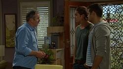 Karl Kennedy, Tyler Brennan, Nate Kinski in Neighbours Episode 7177
