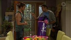 Tyler Brennan, Nate Kinski in Neighbours Episode 7177