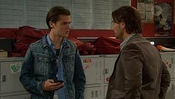 Ben Kirk, Brad Willis in Neighbours Episode 7177