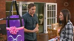 Tyler Brennan, Paige Novak in Neighbours Episode 7177
