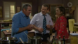 Karl Kennedy, Toadie Rebecchi, Sonya Mitchell in Neighbours Episode 7177