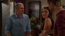Karl Kennedy, Paige Smith, Mark Brennan in Neighbours Episode 7178