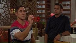 Aaron Brennan, Nate Kinski in Neighbours Episode 7178