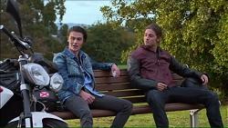 Ben Kirk, Tyler Brennan in Neighbours Episode 7178