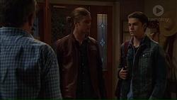 Karl Kennedy, Tyler Brennan, Ben Kirk in Neighbours Episode 7178