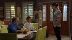 Karl Kennedy, Susan Kennedy, Tyler Brennan in Neighbours Episode 7178