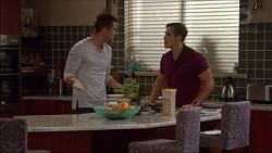 Mark Brennan, Aaron Brennan in Neighbours Episode 7179
