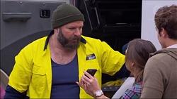 Trev Barnett, Amy Williams, Kyle Canning in Neighbours Episode 7179