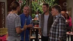Tyler Brennan, Karl Kennedy, Mark Brennan, Russell Brennan in Neighbours Episode 7179