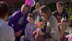 Susan Kennedy, Toadie Rebecchi, Nell Rebecchi, Amy Williams, Sonya Mitchell, Kyle Canning in Neighbours Episode 7179