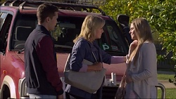 Josh Willis, Lauren Turner, Amber Turner in Neighbours Episode 7180